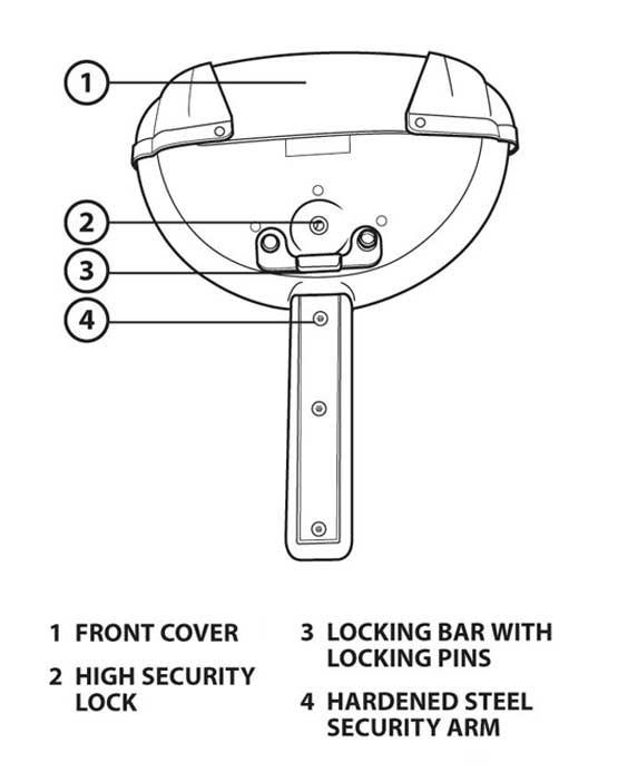 Autolok 2000 Plus Steering Wheel Lock