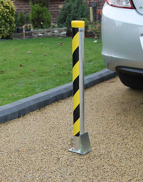 Autolok Round Removable Security Post