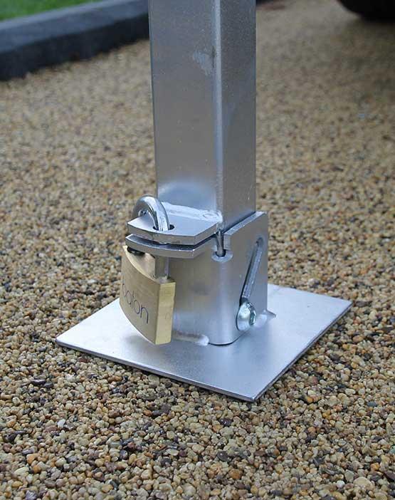Autolok Tallboy Fold Down Post