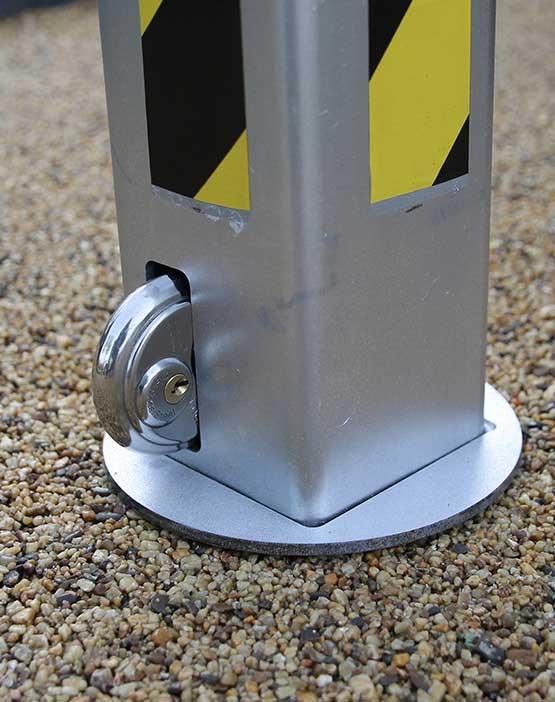 Autolok Telescopic Anti Ram Raid Post