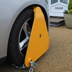 Klamp-It Heavy Duty Triangular Wheel Clamp