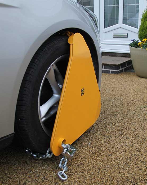 Klamp-It Heavy Duty Triangular Wheel Clamp